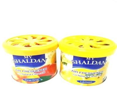 My Shaldan Orange-Mango, Lemon Car Perfume Gel(160 g)