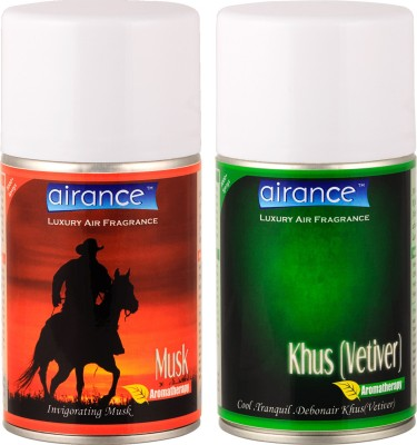 Airance Musk, Vetiver Home Liquid Air Freshener