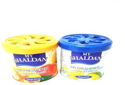 My Shaldan Orange-Mango, Squash Car Perfume Gel(160 g)