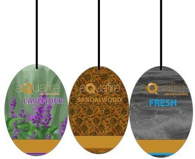 Aquafire Fresh, Sandalwood, Lavender Car  Perfume Bar