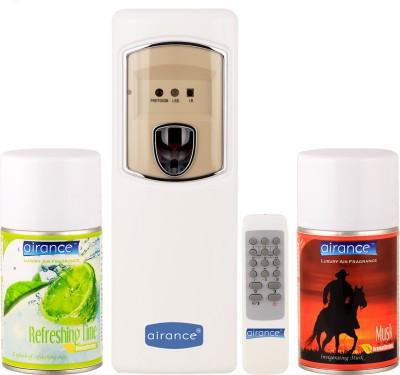 Airance Refreshing Lime, Musk Home Liquid Air Freshener(250 ml)