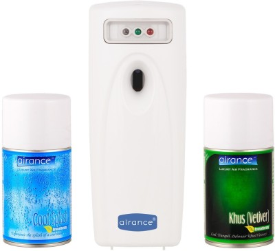 Airance Cool Splash, Khus (Vetiver) Home Liquid Air Freshener