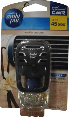 Ambi Pur Car Vanilla Bouquet Air Freshener Starter