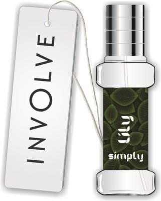 Involve Rainforest Lilly Car  Perfume Liquid