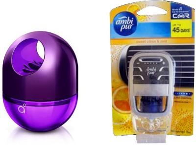 Ambi Pur Sweet Citrus Car Perfume Liquid(52.5 g)