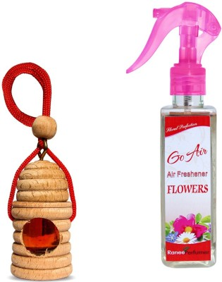 Auto Pearl Flowers Car  Perfume Liquid