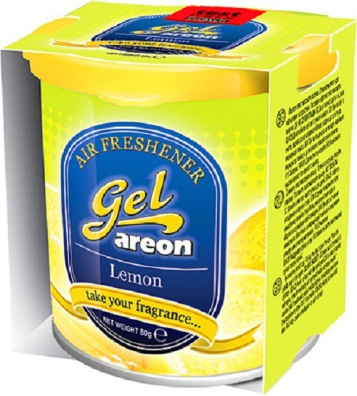 Areon Lemon Car  Perfume Gel(80 g)