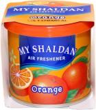 Car Studio Orange Car  Perfume Gel (80 g...