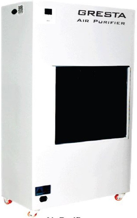 View GRESTA GS-2000 Portable Room Air Purifier(Silver) Home Appliances Price Online(GRESTA)