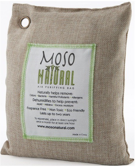 View Moso Natural Moso Natural Air Purifying Bag 500g Portable Room Air Purifier(Beige) Home Appliances Price Online(Moso Natural)