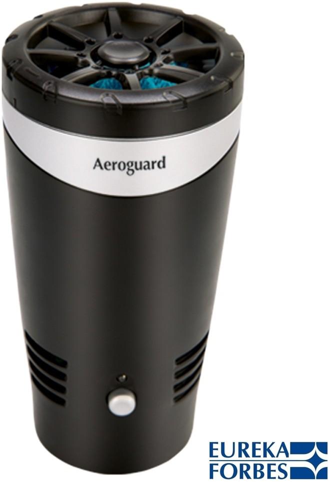 Aeroguard Eureak Forbes/ Fresh car Portable Car Air Purifier(Black)