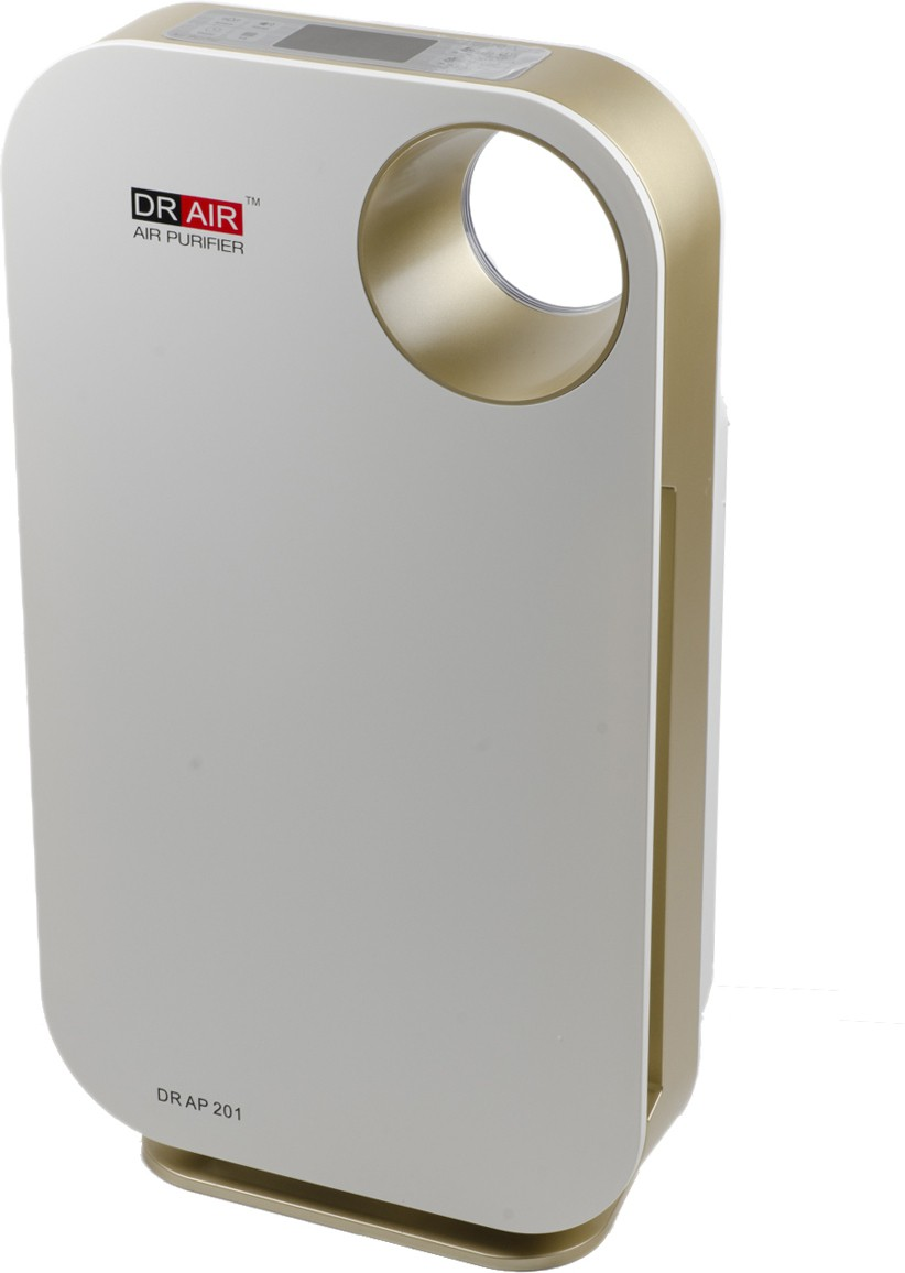 View Dr. AIR Dr Ap 201 Portable Room Air Purifier(White) Home Appliances Price Online(Dr. AIR)