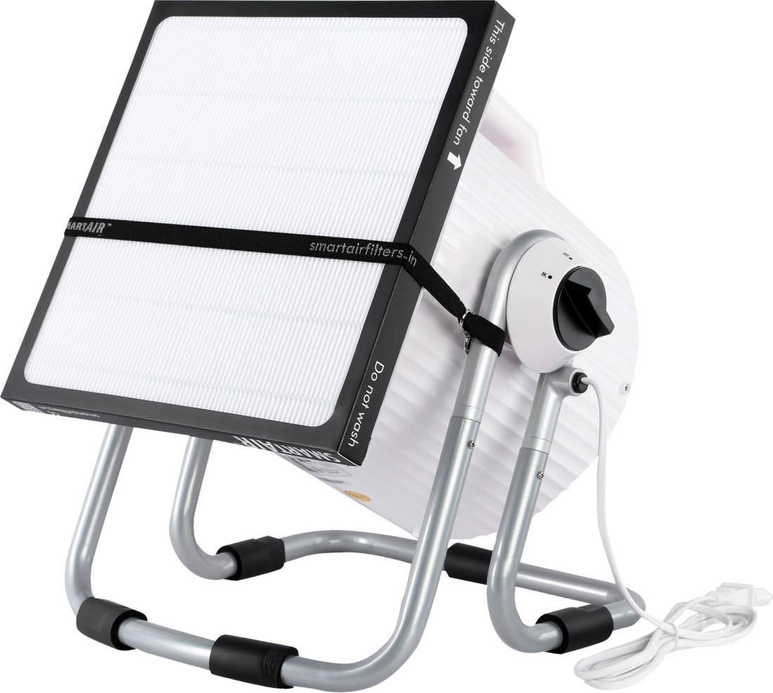 Smart Air Cannon DIY Portable Room Air Purifier(White)