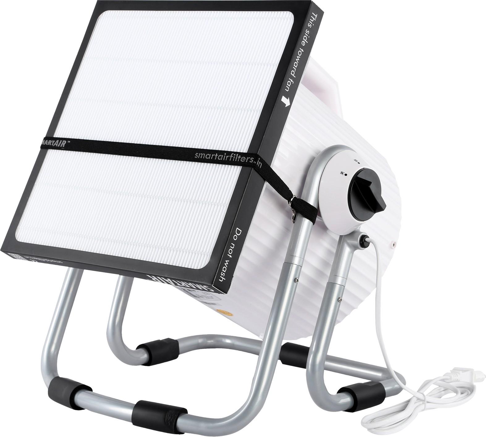 View Smart Air Cannon DIY Portable Room Air Purifier(White) Home Appliances Price Online(Smart Air)
