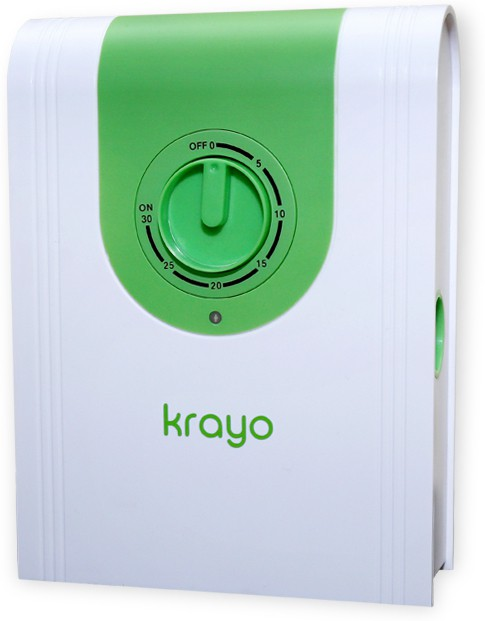 View krayo Ozone Room Air Purifier(White) Home Appliances Price Online(krayo)