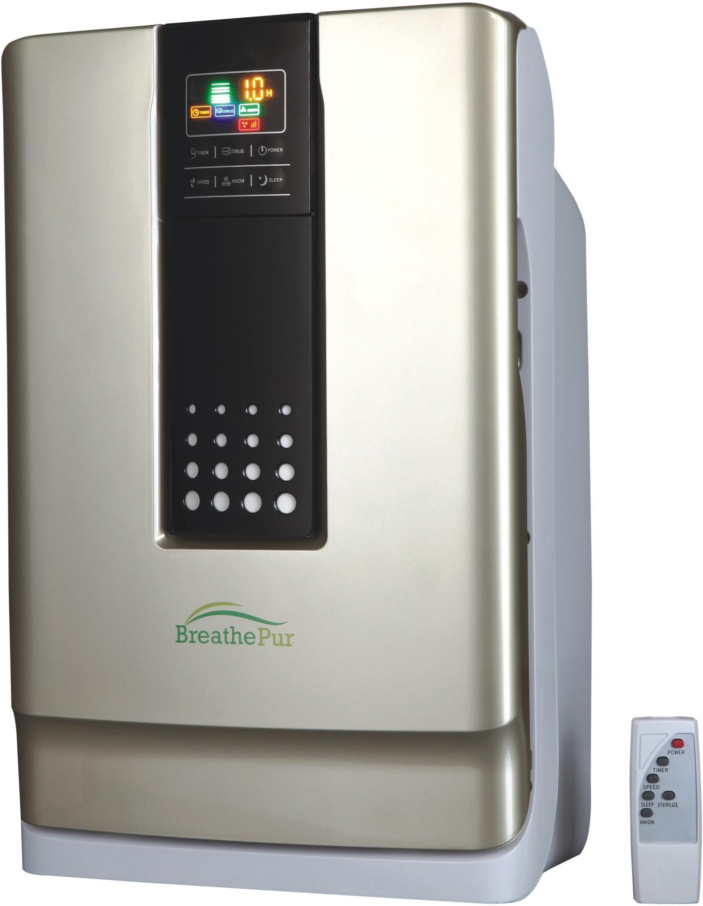 View Breath Pur DS01 Room Air Purifier(Gold) Home Appliances Price Online(Breath Pur)