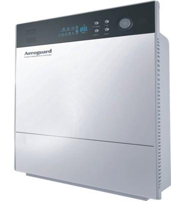Aeroguard Wave Portable Room Air Purifier(Silver, Black)