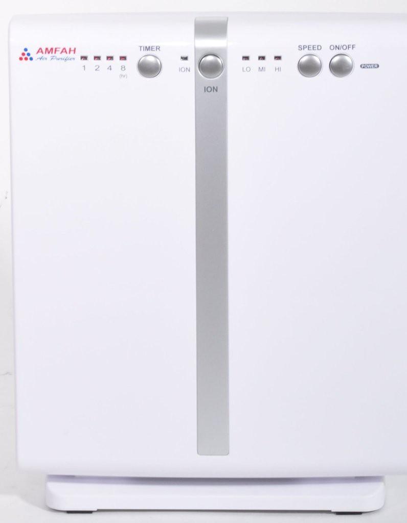 View Amfah AMF-250AP Portable Room Air Purifier(White) Home Appliances Price Online(Amfah)
