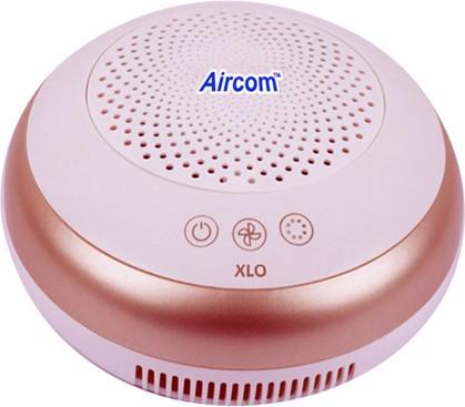 View AIRCOM XLO Portable Car Air Purifier(Gold, White) Home Appliances Price Online(AIRCOM)