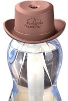MSE Portable Water Bottle Cowboy Cap Diffuser_A14 Portable Room Air Purifier(Brown)