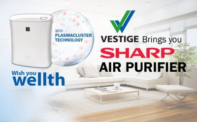 Vestige FP-F30E-H Portable Room Air Purifier