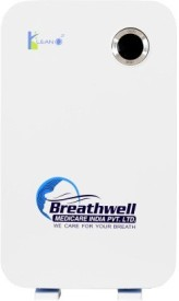Breathwell Model BW-02, White Hepa Filter Portable Room Air Purifier(White)