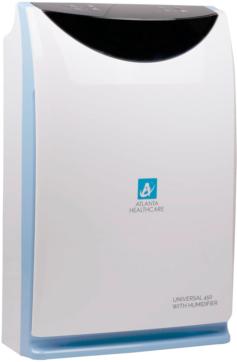 View Atlanta Healthcare Universal 450 Portable Room Air Purifier(White) Home Appliances Price Online(Atlanta Healthcare)