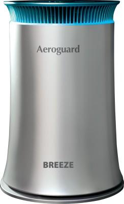 Aeroguard Breeze Portable Room Air Purifier(Silver, Black)