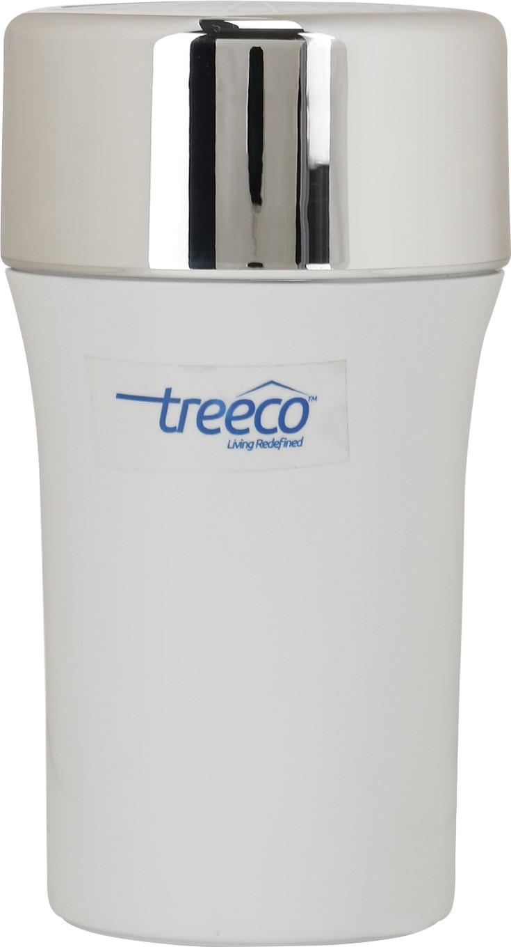 View Treeco Solid Portable Car Air Purifier(White, Silver) Home Appliances Price Online(Treeco)
