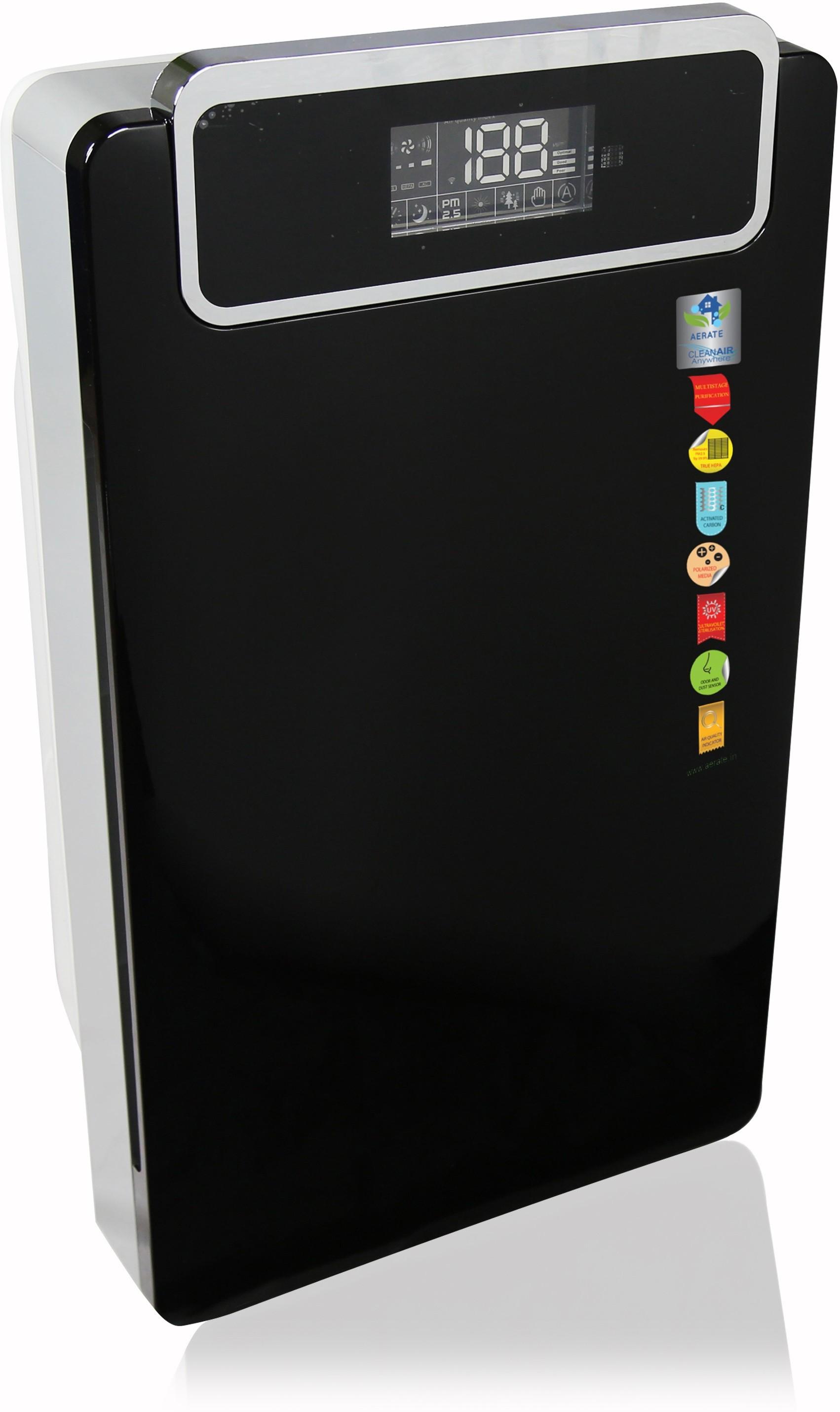 Aerate Thunder Portable Room Air Purifier(Black)