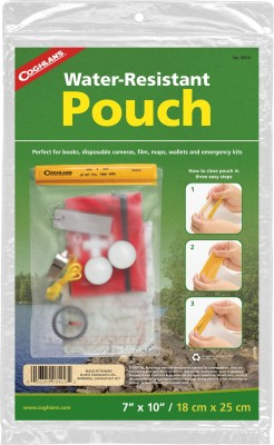 Coghlan,S Disposable Plastic Air Tight Pouch(White Pack of 1)
