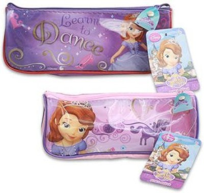 Disney Resealable Air Tight Pouch(Pink, Purple Pack of 1)