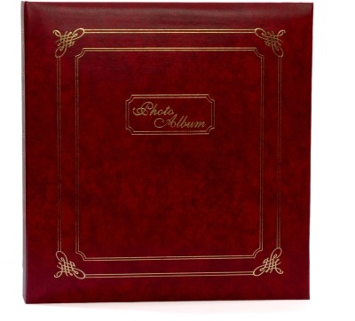 Natraj Assorted Vinyl Leather Cover 200 Pocket 5 X 7inch Album