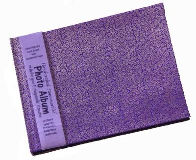 Creates & Designs Handcrafted Brocade Fabric Photo Album