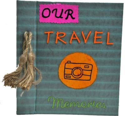 Puple Circle Travel Album