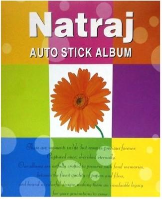 Natraj Big Autostick Photo - 20 Sheet Size - 11 inch x 13 inch approx.(28cm x 33cm) Album