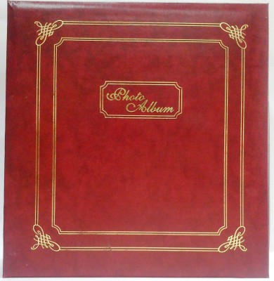 Natraj Assorted Vinyl Leather Cover 200 Pocket 5 X 7 Inch Album