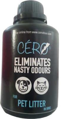 Cero A Unique Powder that Eliminates Stink from Pet Litter in Bins