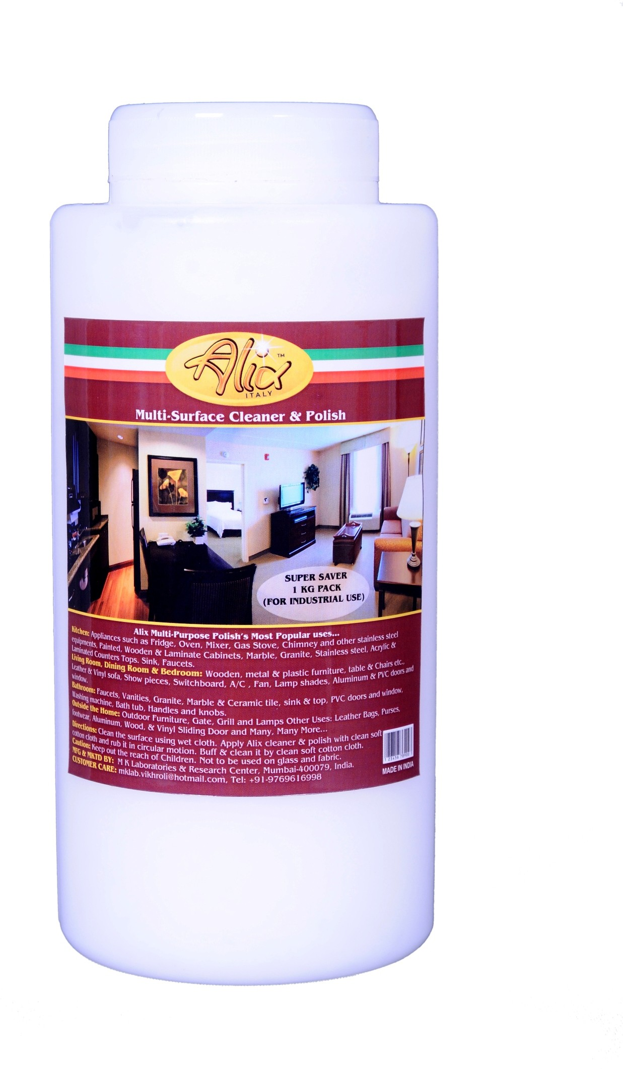 ALIX Multi-Surface Cleaner & Polish Kitchen Cleaner