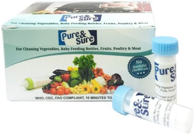 Pure & Sure Safe Disinfectant For Water & Feeding Bottles And Salads