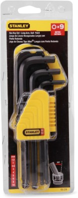Stanley 69-256-22 Allen Key Set(Pack of 9)