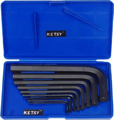 KETSY CRV 9 Pcs Allen Key Set