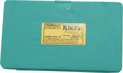 Taparia KM-9V Allen Key Set(Pack of 9)