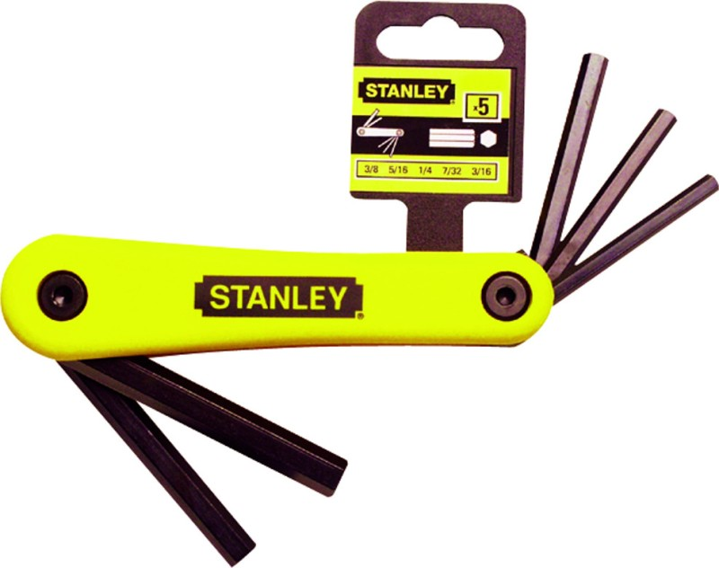 Stanley 69-263-22 Folding Allen Key Set(Pack of 8)