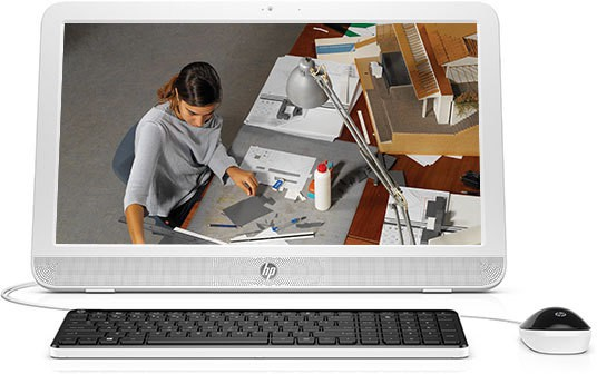 View HP All in One 20 e102in Desktop Computer Price Online(HP)