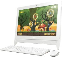 Lenovo - (Celeron Dual Core/2 GB DDR3/500 GB/Windows 10 Home)(White, 34.2 cm x 48.6 cm x 4.8 cm, 3.5 kg, 19.5 Inch Screen)