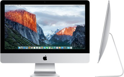 View Apple - (Core i5/8 GB DDR3/1 TB/Mac OS X Mavericks)(Silver, 45.0 cm x 52.8 cm x 17.5 cm, 5.68 kg, 21.5 Inch Screen) Desktop Computer Price Online(Apple)
