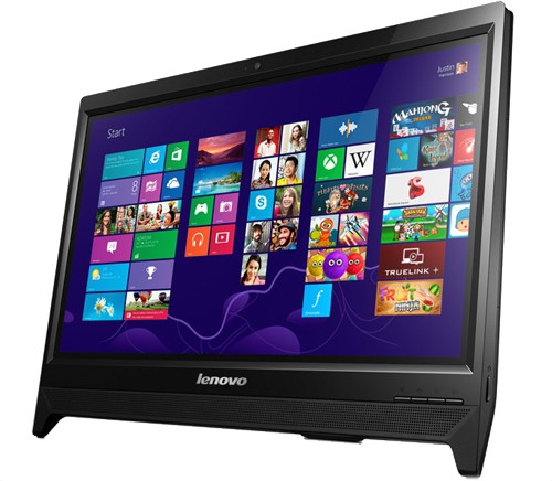 View Lenovo - (Celeron Dual Core/2 GB DDR3/500 GB/Free DOS)(Black, 19.5 Inch Screen)  Price Online