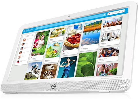 View HP All-in-One-20 e010in Desktop Computer Price Online(HP)