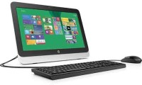 HP All in one 20-r016il(Black, Silver)